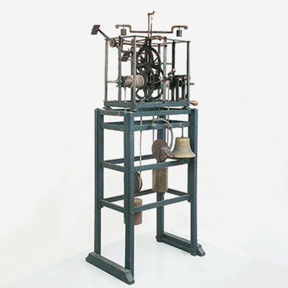 First-ever mechanical clock