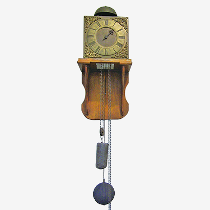 Square Lantern Clock with a Single Hand