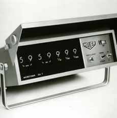 Heuer's Mikrotimer (in 1966)