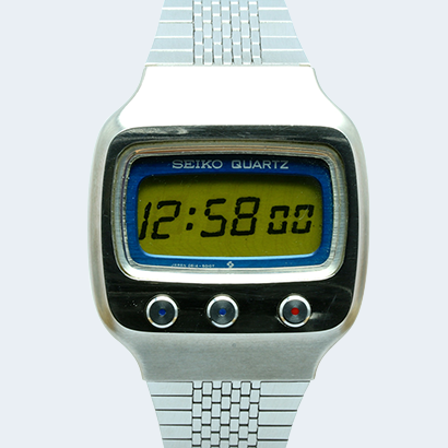 World's First 6-digit Digital Watch
