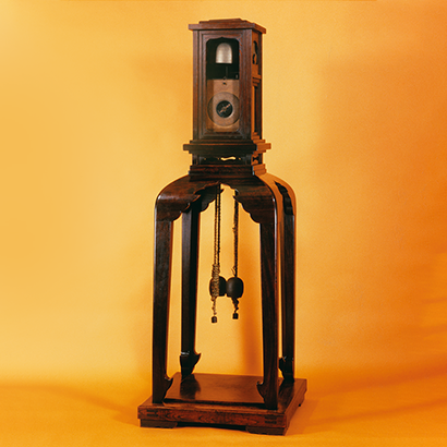 Large Lantern Clock with Single Foliot Balance