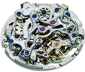 Complex movement of mechanical watches
