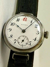 Japan's first wristwatch, the Laurel