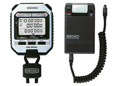 Seiko's system stopwatch with a printer (in 1983)